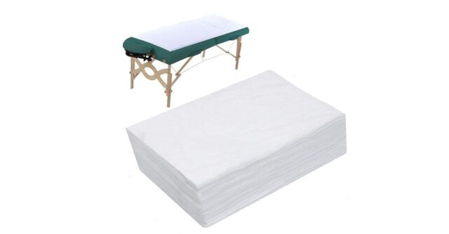 CarryGreen Spa Bed Sheets Disposable Massage Table Sheet Waterproof Bed Cover Non-woven Fabric,