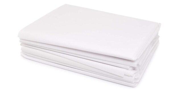 ESTAVITO Disposable SPA Bedsheet Pack of 20 Sheets NON WOVEN FABRIC
