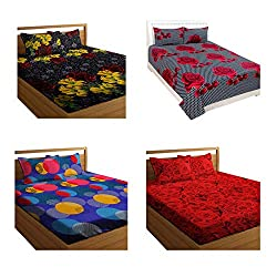 king size cotton double bedsheet