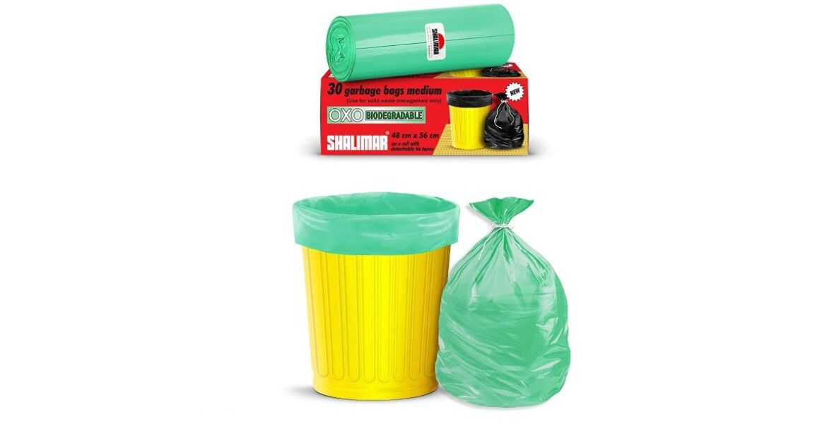 Biodegradable Garbage Bags - Medium - Dustbin Bag